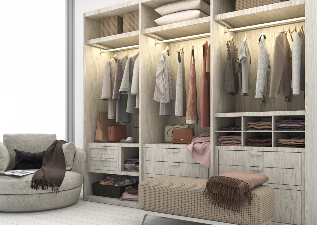 BEAUTIFUL BESPOKE WARDROBES & MADE-TO-ORDER SOLUTIONS FOR LUXURY RESIDENTIAL PROPERTIES